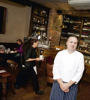 Liam Moloughney, co-owner of Moloughney's restaurant in Clontarf