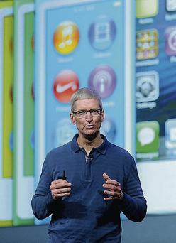 Apple CEO Tim Cook: A US Senate committee drew negative attention to Apple's activities in Ireland