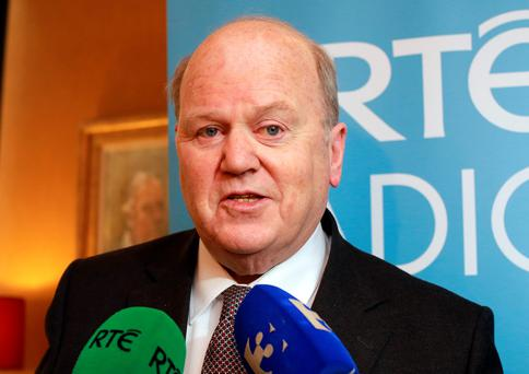 Minister for Finance Michael Noonan confirmed that the corporation tax take over the past five years from the aircraft leasing industry is €123m.
