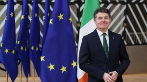 Finance Minister Paschal Donohoe is to meet with his EU counterparts
