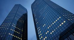 Deutsche Bank headquarters. REUTERS/Kai Pfaffenbach
