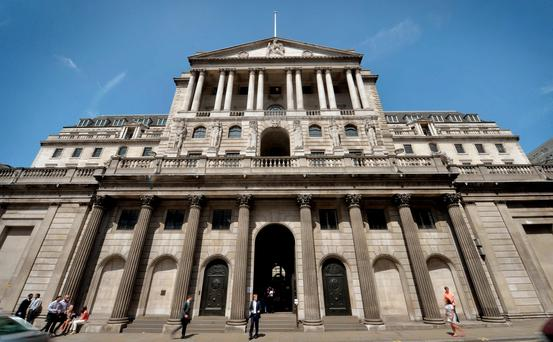 The Bank of England. Photo: PA