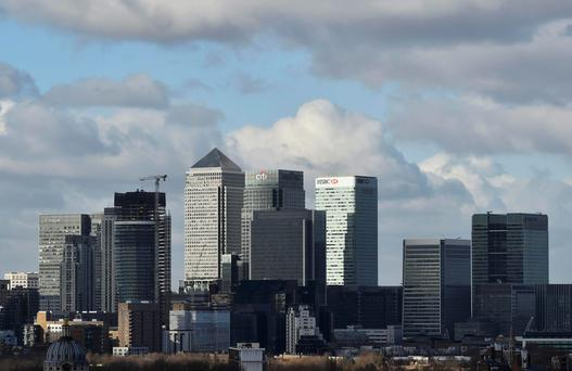 Canary Wharf financial district. REUTERS/Hannah McKay