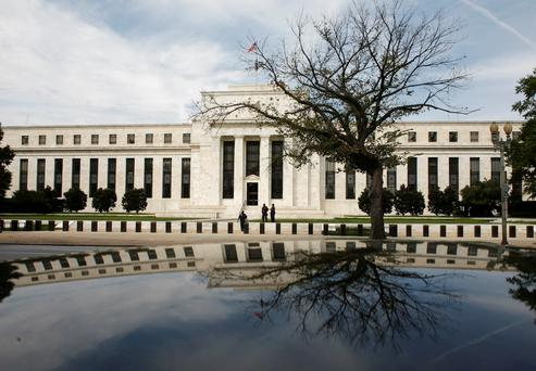 The Federal Reserve Building. Photo: Reuters/Jim Young/Files