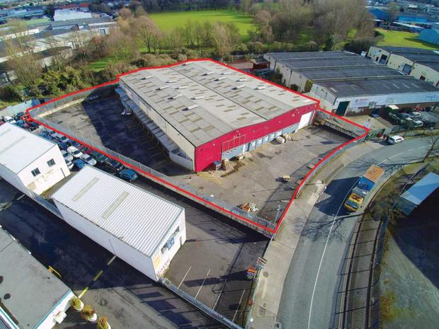 Robinhood Industrial Estate in Dublin