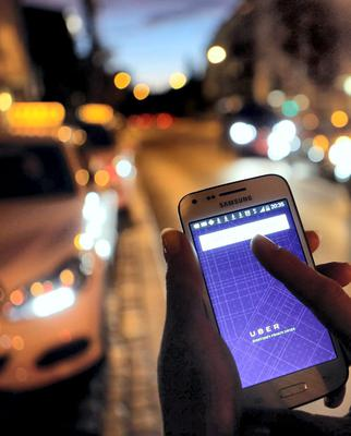 Uber is valued at around $41bn (€35bn)