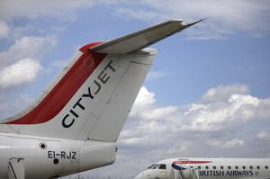 Troubled times: CityJet no longer operates flights under its own name. PHOTO: BLOOMBERG