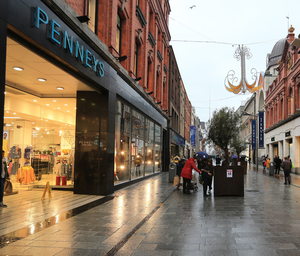 Lockdown: All Penneys and Primark stores are currently shuttered. Photo: Gerry Mooney
