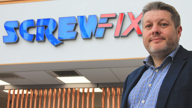 Building blocks: Screwfix boss John Mewett remains confident in the future despite Brexit