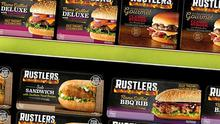 Firing up sales: Kepak launched the Rustlers brand in 1999