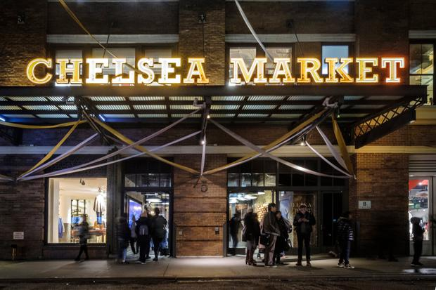 Google recently added to its New York HQ by acquiring the Chelsea Market shopping mall. Photo: Bloomberg