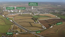Rezoning prospects: The 241-acre Killegland Farm in Co Meath