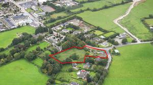 Extending to about 2.1 acres it includes the former McEvoys pub