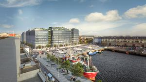 Bonham Quay will add to supply when it is completed