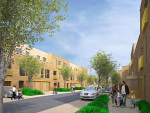 An artist's impression of the proposed Iona Quarter in Glasnevin in Dublin