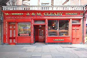 Historic site:  J&M Cleary hosted scenes from the 1996 film 'Michael Collins', in which Liam Neeson played the eponymous leader