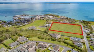 The 4.47-acre greenfield site in Dunmore East, Co Waterford