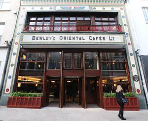 Bewley's Café on Grafton Street reopened in 2017