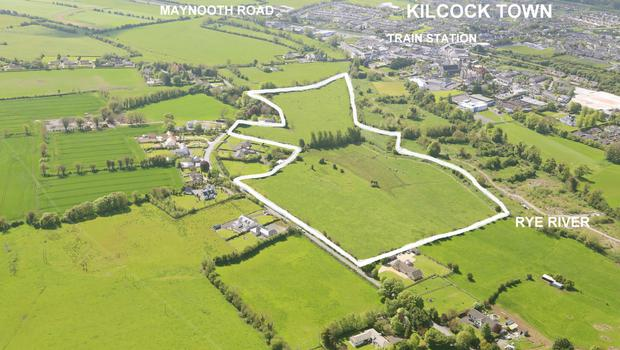 REA Coonan is quoting €25,000 per acre for this 28 acre site close to Kilcock in Co Meath