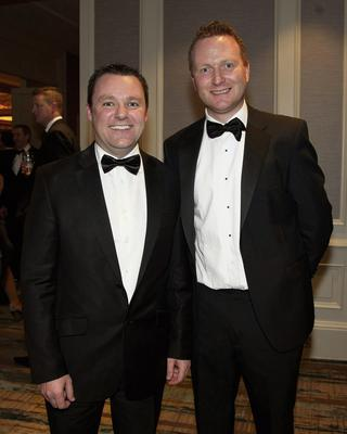 Paul Muldoon (Independent Advertising Manager) and Bobby Geraghty (Hunters Estate Agent)