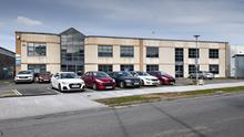Equipped: The Stillorgan property is fully kitted out for medical or pharma production