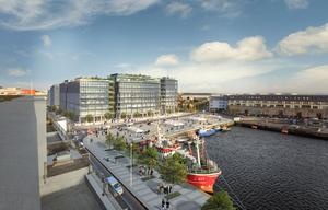 Under construction: Gerry Barrett's Bonham Quay scheme in Galway