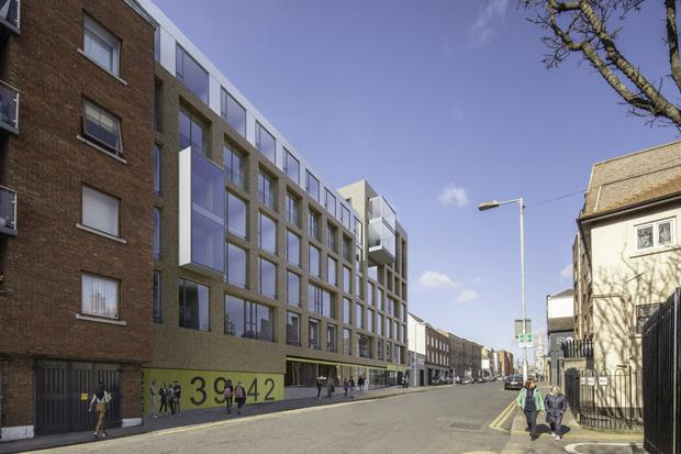 An artist's impression of the proposed development in Hill Street, Dublin