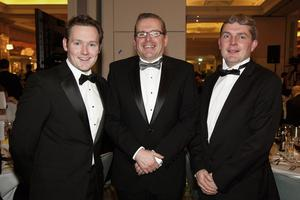Barry McDonald, Philip Farrell and Seamus Carthy of the Real Estate Alliance