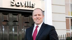 Experience: Peter Levins has joined Savills' industrial division Photo Chris Bellew