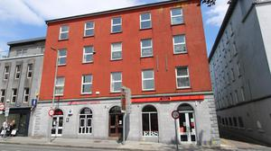 Hardiman House on Eyre Square in Galway city centre