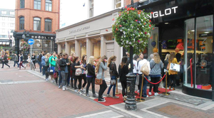 Inglot has proved very popular since coming to Ireland