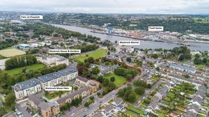 The 3.26-acre property in Blackrock, Cork City, is guiding €4m