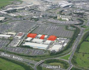 The units at Airport Business Park, Swords