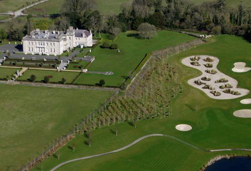 Palmerstown Demesne Golf course, developed by Jim Mansfield, is believed to be sale agreed