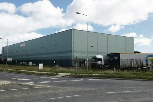The industrial unit at Donabate