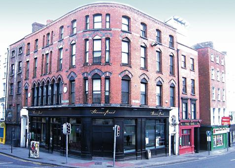 The Thomas Read pub and The Oak Bar, located at the corner of Dame Street and Parliament Street, are being offered for €2.25m