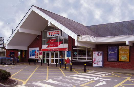 The Tesco supermarket in Gorey, Co Wexford, located on Courtown Road, is for sale with a €2.5m price tag