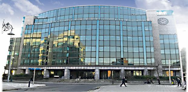 La Touche House office investment in the IFSC, Dublin 1, which was bought by new market entrant Credit Suisse for €35m. and the yield is reported to have been 12pc.