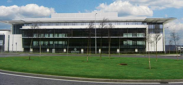 The Concourse Building in Airside Business Park which Ryanair bought for their new headquarters for around €11million