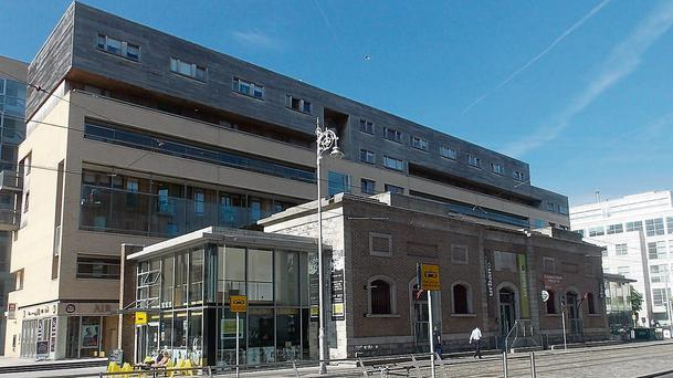 The Excise Building in the Irish Financial Services Centre, Dublin 1