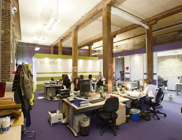 Some of the offices at the Digital Hub in James Street, Dublin 8