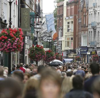 Grafton Street rents remain strong says CBRE's Enda Luddy