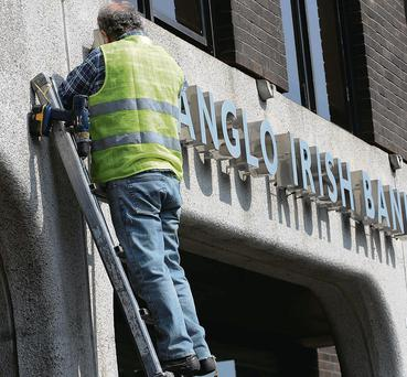 "The dismantling of the former Anglo Irish Bank - David McWilliams says the Irish central bank used ""magic"" to invent money for the shell Anglo in order to pay back its creditors"