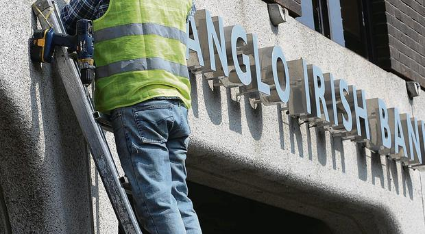 The dismantling of the former Anglo Irish Bank - David McWilliams says the Irish central bank used