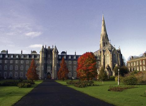 Maynooth College, where developers are tendering for an €18m student accommodation project