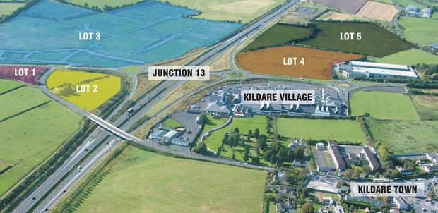 The lots on the market in Co Kildare