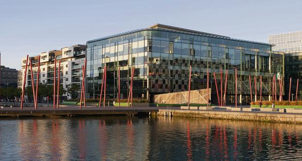The Marker Residences on Grand Canal Square have a price tag of €40 million. Photo: Shane O'Neill/Fennells