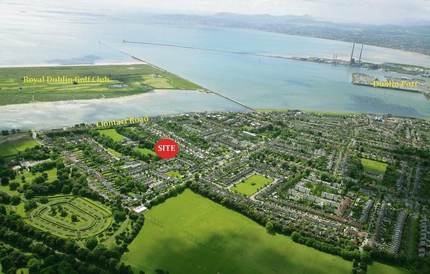 Clontarf site sold for €2.2m