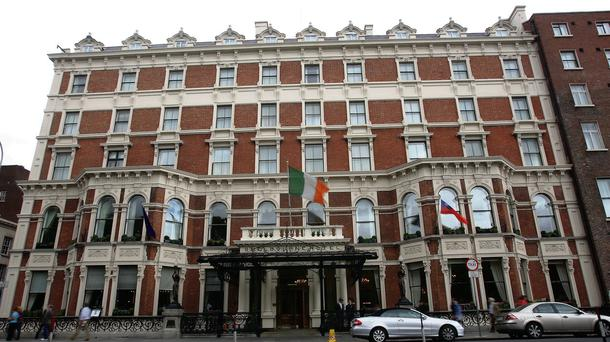 The Shelbourne hotel Pic: Mark Condren