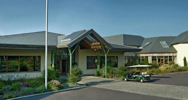 The clubhouse at Blarney Golf Resort, Co Cork, which is on the market for €2.5m